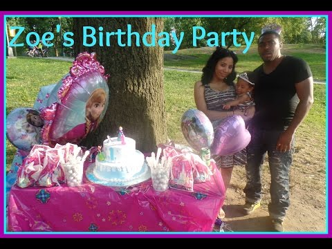Zoes 1st Birthday Party Central Park NYC Frozen Theme