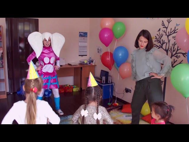 """День рождения в студии детского праздника """"Золотая рыбка"""""""