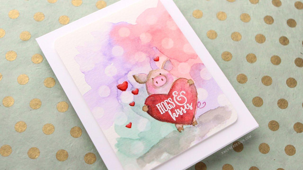 valentine 39 s day card hogs kisses youtube. Black Bedroom Furniture Sets. Home Design Ideas