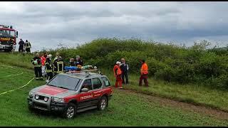 #Kleinflugzeug in #Bad_Sobernheim abgestürzt