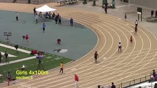 2018 Sac State Classic - Girls 4x100 meters