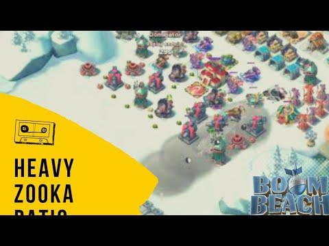 Boom Beach Basics - Zooka + Heavy Attack | Boom Beach Daily PvP smokey hooka @ 889VP !