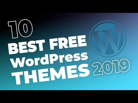 10 Best Free WordPress Themes For 2017
