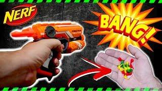 CRAZY NERF GUN MOD - Nerf Gun TNT POP-IT MOD