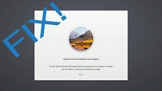 Fix macOS Update Error