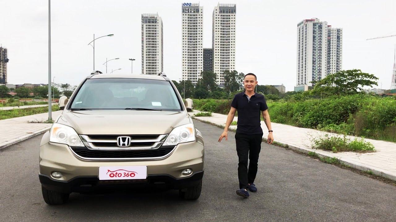 Bán Honda CRV 2.4 2011 giá chỉ hơn 400tr [ô tô 360]