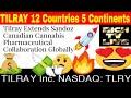 Tilray Extends Sandoz Canadian Cannabis Pharmaceutical Collaboration Globally