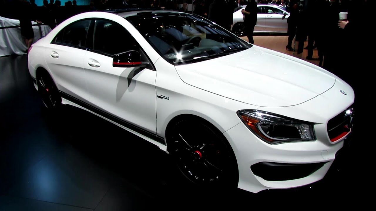 2015 mercedes cla class cla45 amg edition1 exterior interior walkaround 2014 detroit auto. Black Bedroom Furniture Sets. Home Design Ideas