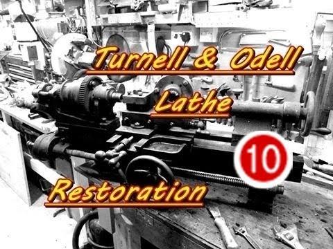 Turnell & Odell Lathe Restoration # 10 rebuilding the Apron