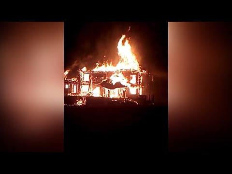 Житомир.info   Новости Житомира: Вночі біля Житомира згорів будинок, у якому збиралися відкрити кафе  - Житомир.info