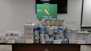 Chinese community in Spain donate essentials during COVID-19 outbreak