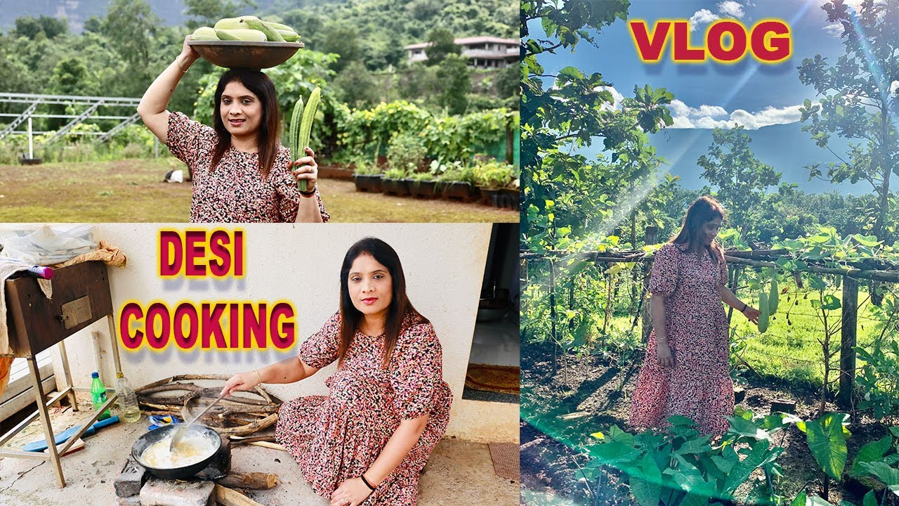 DESI COOKING AT MOUNTAIN WITH AYU AND ANU!! l Camping Vlog l Cook With Asha