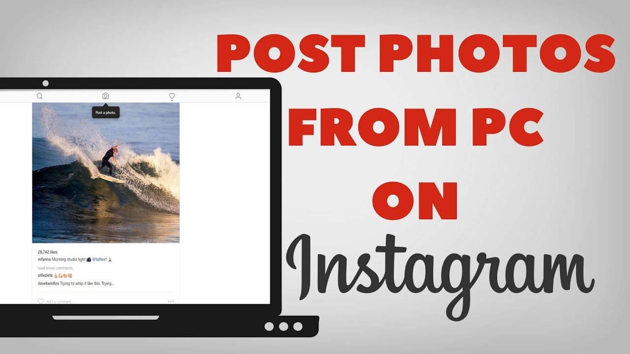 How to Post Photos to Instagram from Desktop