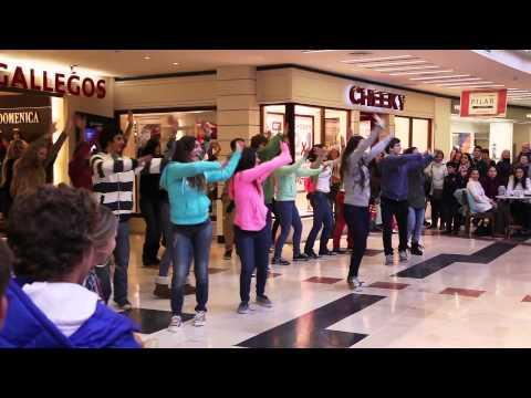 Flashmob Colegio  Northern Hills en el Shopping Los Gallegos Mar del Plata
