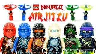 LEGO Ninjago Airjitzu Flyers 70739 to 44  Kai Jay Cole Zane Morro & Wrayth Original Sets