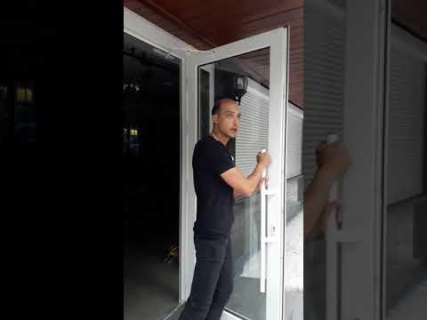 Режимы работы доводчика на входной ПВХ двери