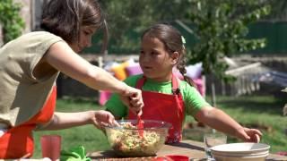 Çocuklar Mutfakta Çiftlik