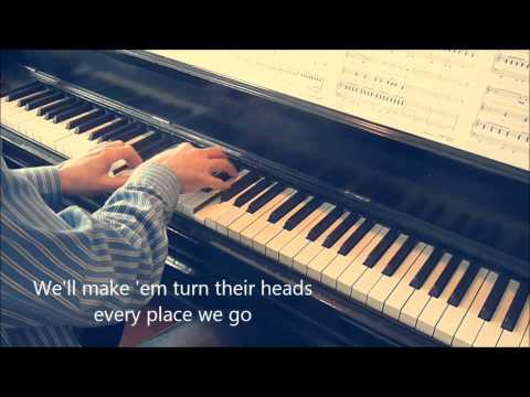 Be my baby.   Piano : André Caron