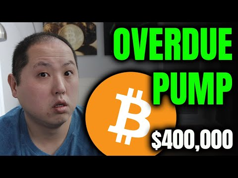 BITCOIN IS OVERDUE FOR A PUMP!!! $400,000 END OF YEAR TARGET!!!