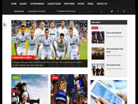 News Joomla Templates Magazines Newspapers