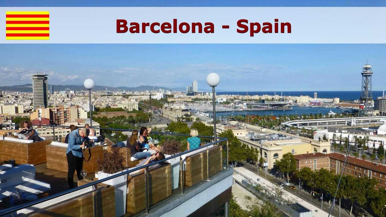 barcelona city a sightseeing tour youtube barcelona city a sightseeing tour