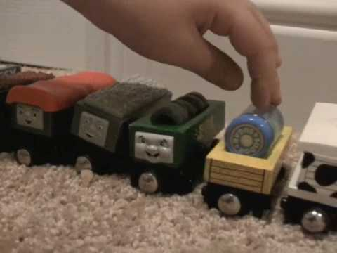 Wooden Thomas And Friends Trains And Troublesome Trucks