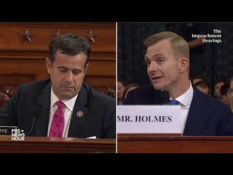 watch:-rep.-john-ratcliffe's-full-questioning-of-hill-and-holmes-|-trump-impeachment-hearings