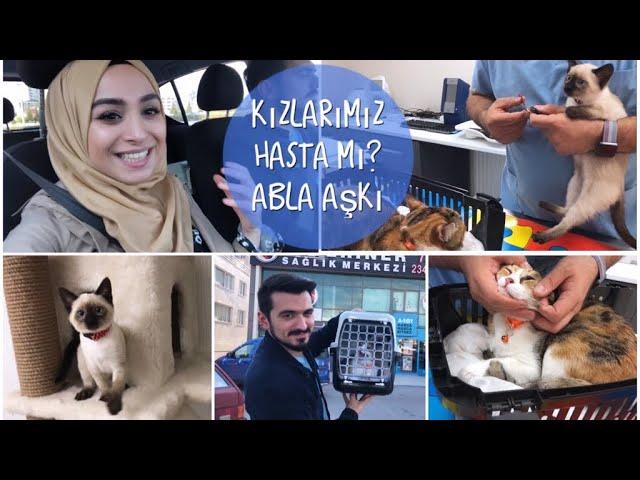 KIZLARIMIZ HASTALANDI MI? - ABLA AŞKI - DÜRÜMLE İFTAR - ALAÇATI MUHALLEBİSİ | #herşeyaşkla #vlog
