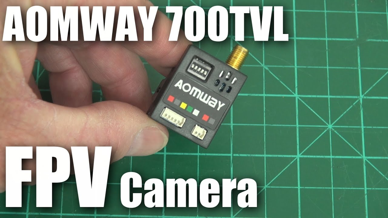 AOMWAY 700TVL FPV camera and 200mW backpack syst…