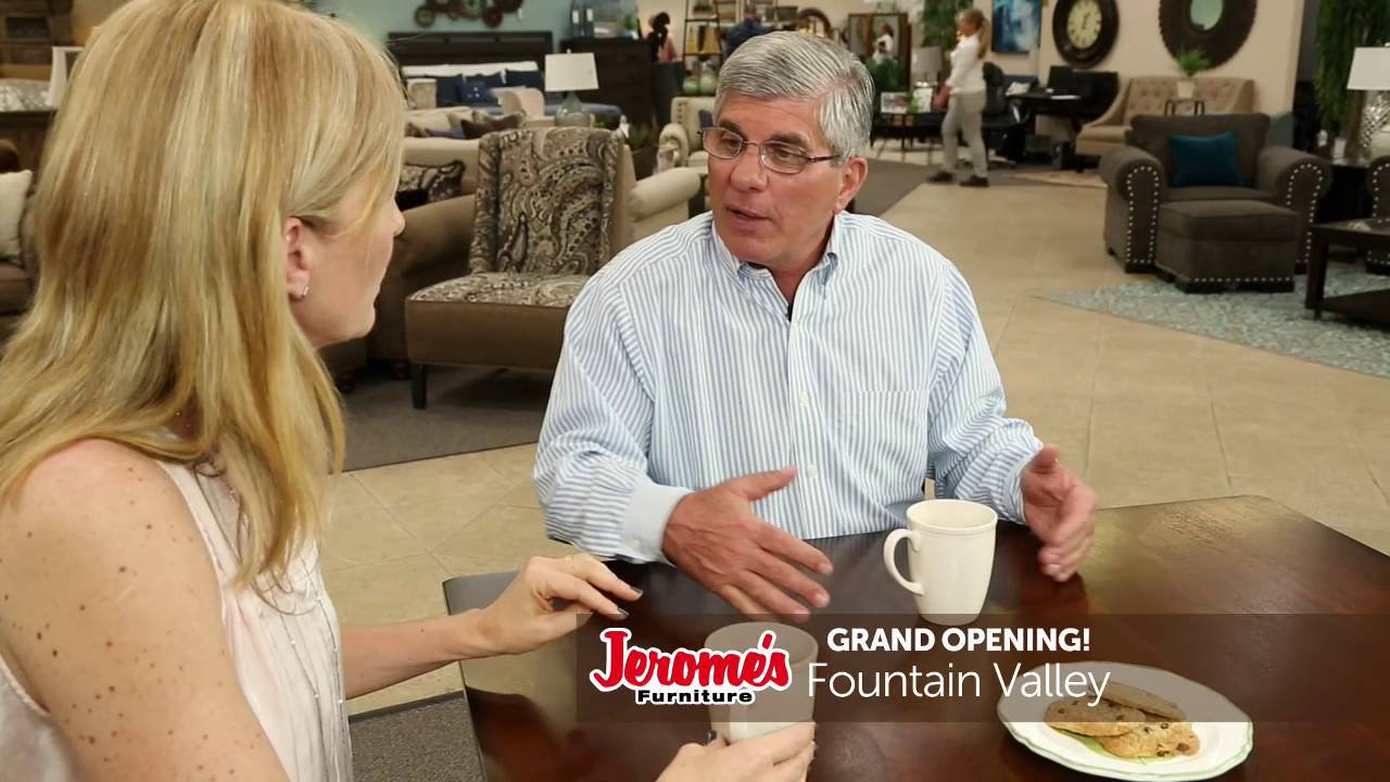 Jeromeu0027s Furniture Fountain Valley Grand Opening!   YouTube