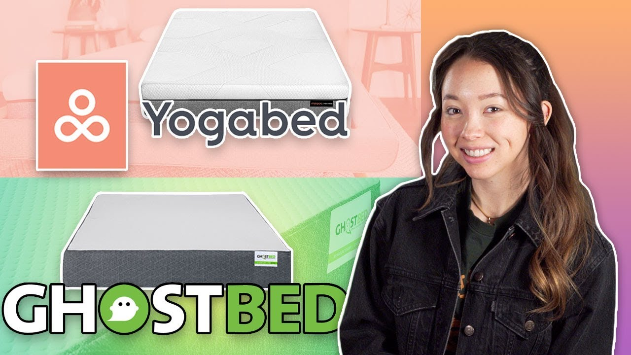 yogabed vs ghostbed review foam mattress in a box comparison 2019 youtube. Black Bedroom Furniture Sets. Home Design Ideas