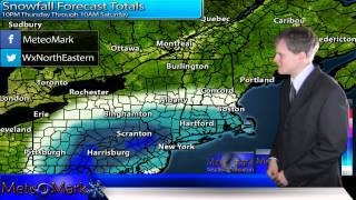 Winter Storm On First Day Of Spring : Mar 19, 2015