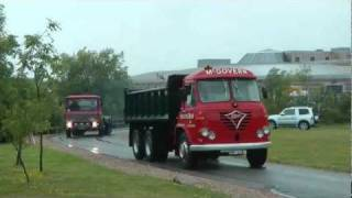 GAYDON CLASSIC TRUCKS A WET DEPARTURE JUNE 2011