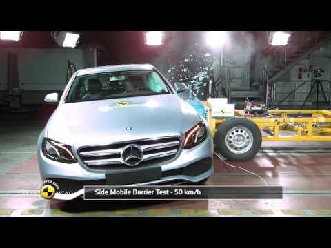Euro NCAP Crash Test Of Mercedes-Benz E-Class