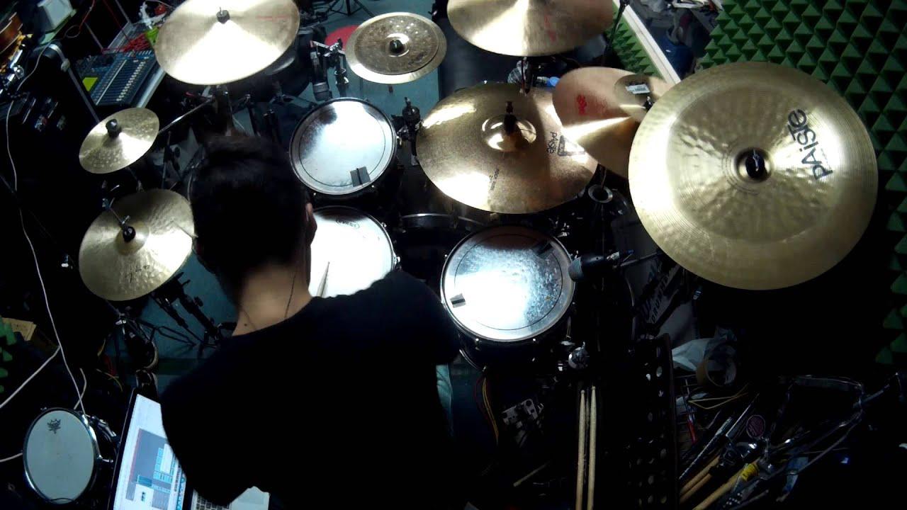 Animetal - Zankoku na Tenshi no Teze《新世紀褔音戰士》主題曲 (Drum cover by SenHei@ToNick)