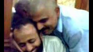 Gay Afghan Pashtuns kiss in  Kandahar Afghanistan