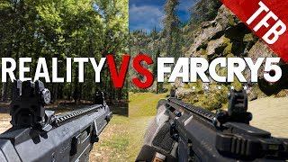 The Real World Weapons of Far Cry 5