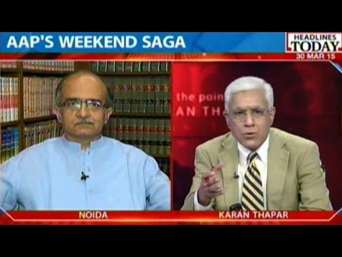To The Point: Prashant Bhushan After AAP National Executive Ouster