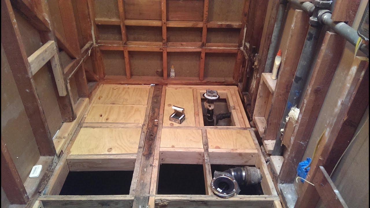 Bathroom Renovation  Tub to Barrier Free Shower