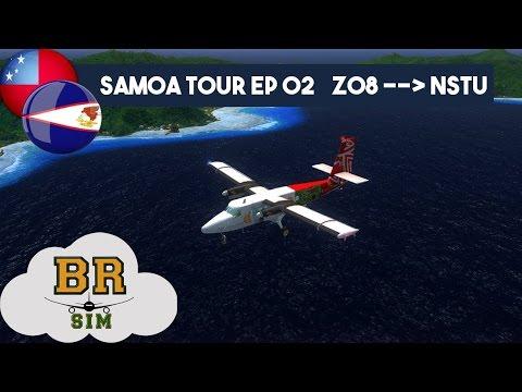 Samoa Tour Ep 02  Z08(Ofu) - NSTU(Pago Pago) - FSX