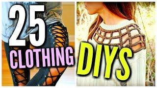 DIY Clothes Life Hacks! 25 DIY Ideas For Clothing & Fashion
