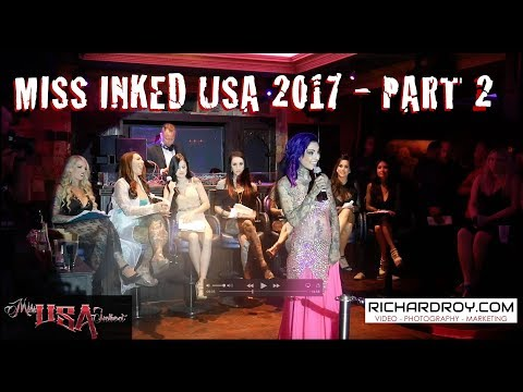 Miss Inked USA 2017   Part 2   Inked Women