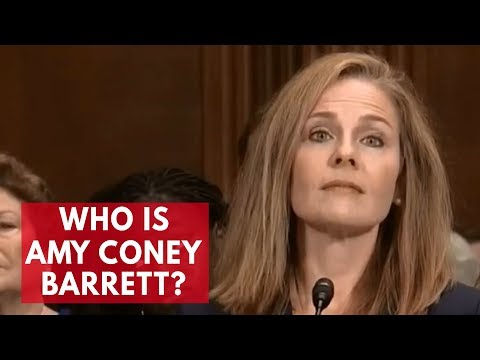 Who is Amy Coney Barrett? - YouTube