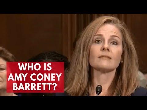 Who is Amy Coney Barrett? - YouTube