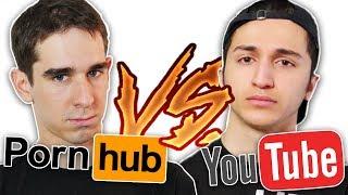 PORNHUB VS YOUTUBE ! thumbnail