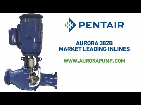 Pentair Aurora 382B Inline Pumps