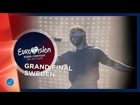 Sweden - LIVE - John Lundvik - Too Late For Love - Grand Final - Eurovision 2019