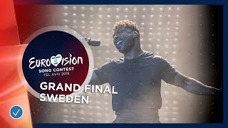 Sweden - LIVE - John Lundvik - Too Late For Love - Grand Fin...