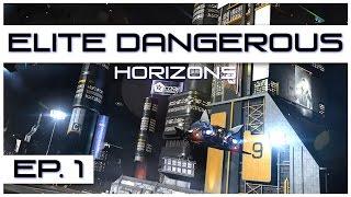 Elite Dangerous: Horizons - Ep. 1 - Planet Landing! - Let