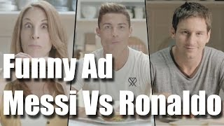 Funny Commercial Messi vs Ronaldo advertisement (Rguilan)